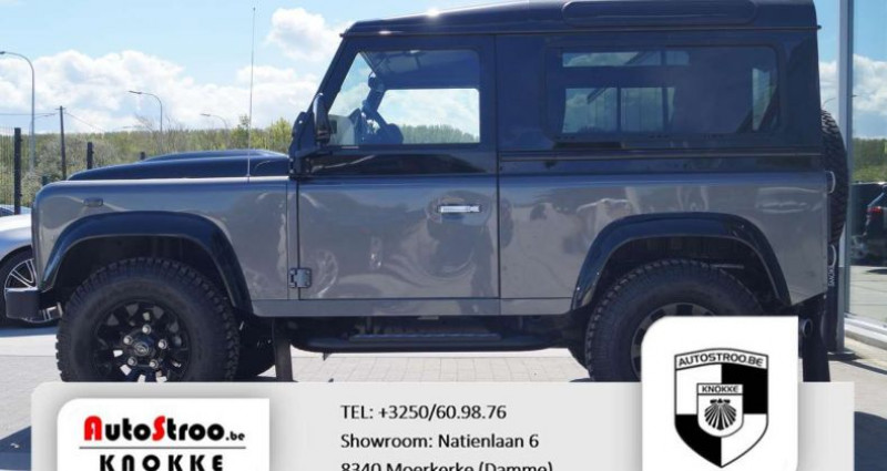 Land rover Defender 90 90 Autobiography Collector Limited Edition Gris occasion à Moerkerke - photo n°2