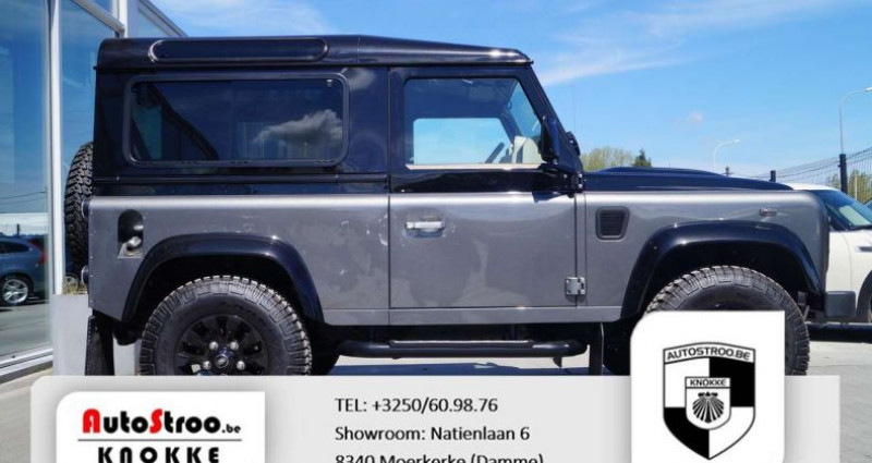 Land rover Defender 90 90 Autobiography Collector Limited Edition Gris occasion à Moerkerke - photo n°3