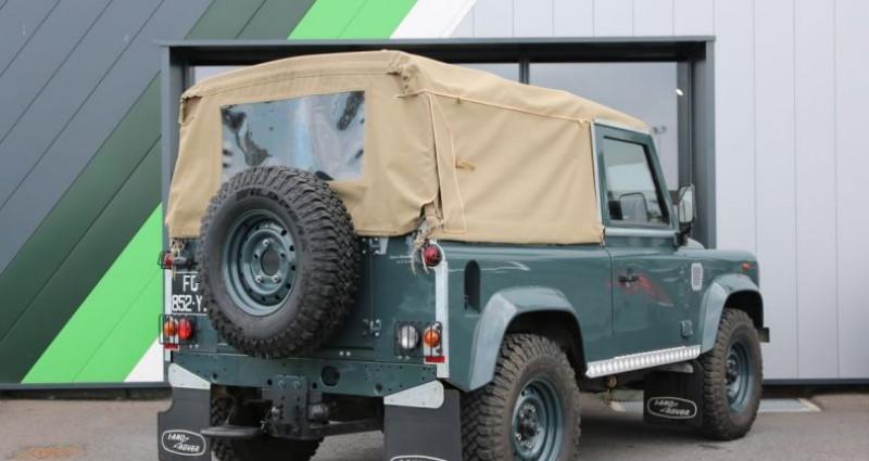 Land rover Defender 90 90 SOFT TOP E Vert occasion à Jaux - photo n°4