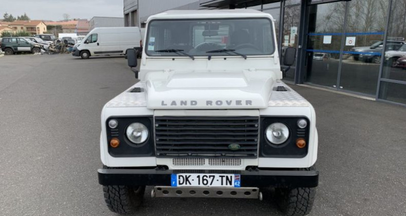 Land rover Defender 90 90 TD4 122 CV Blanc occasion à MONISTROL SUR LOIRE - photo n°3