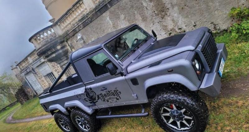 Land rover Defender 6 roues Gris occasion à SAINT MARCEL LES VALENCE - photo n°4