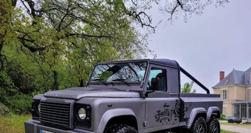 Land rover Defender 6 roues Gris occasion à SAINT MARCEL LES VALENCE - photo n°2