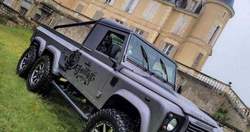 Land rover Defender 6 roues Gris occasion à SAINT MARCEL LES VALENCE - photo n°6
