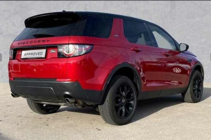 Land rover Discovery 2.0 TD4 150CH AWD HSE BVA MARK I Rouge occasion à Villenave-d'Ornon - photo n°2