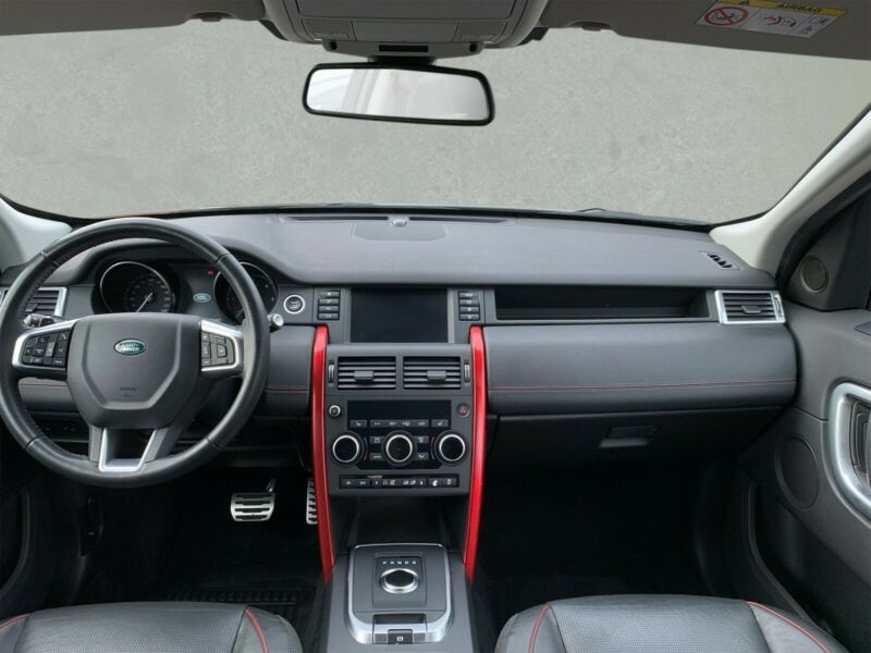 Land rover Discovery 2.0 TD4 150CH SE AWD BVA MARK III Rouge occasion à Villenave-d'Ornon - photo n°4