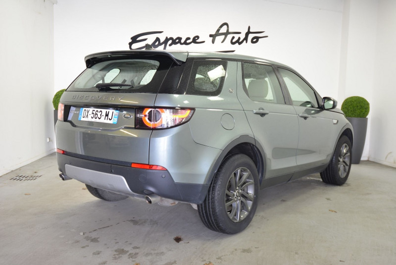 Land rover Discovery 2.0 TD4 180CH AWD HSE BVA MARK I Gris occasion à Quimper - photo n°2