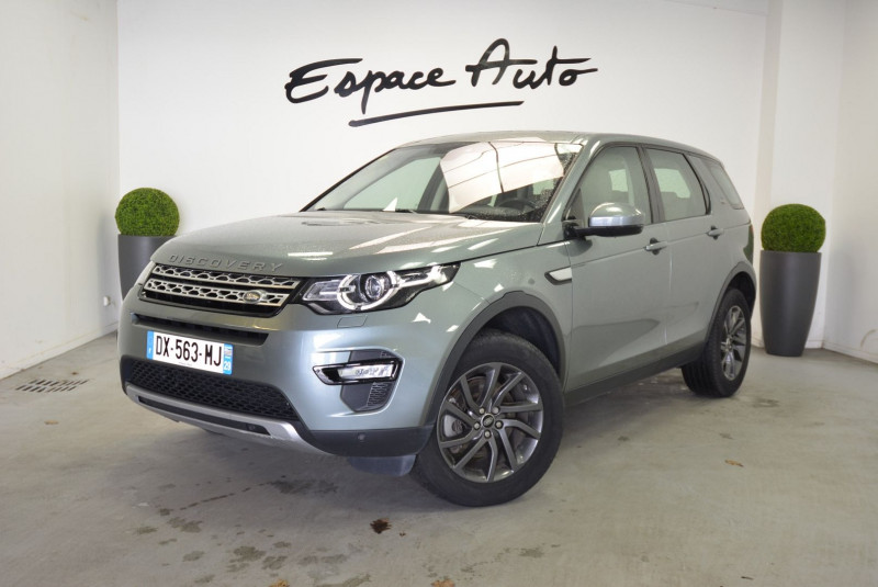 Land rover Discovery 2.0 TD4 180CH AWD HSE BVA MARK I Gris occasion à Quimper