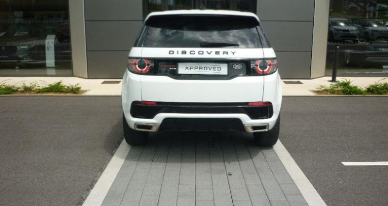 Land rover Discovery 2.0 TD4 180ch AWD HSE Mark II Blanc occasion à Laxou - photo n°7