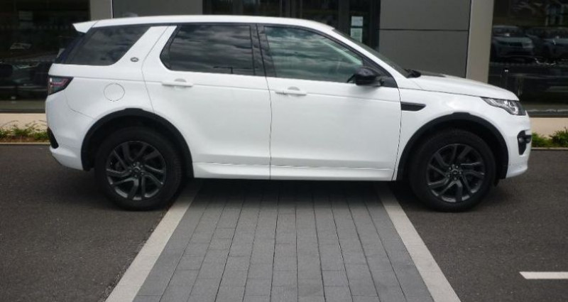 Land rover Discovery 2.0 TD4 180ch AWD HSE Mark II Blanc occasion à Laxou - photo n°6