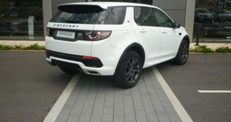 Land rover Discovery 2.0 TD4 180ch AWD HSE Mark II Blanc occasion à Laxou - photo n°2