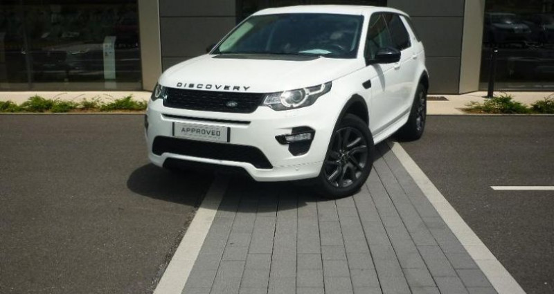 Land rover Discovery 2.0 TD4 180ch AWD HSE Mark II Blanc occasion à Laxou