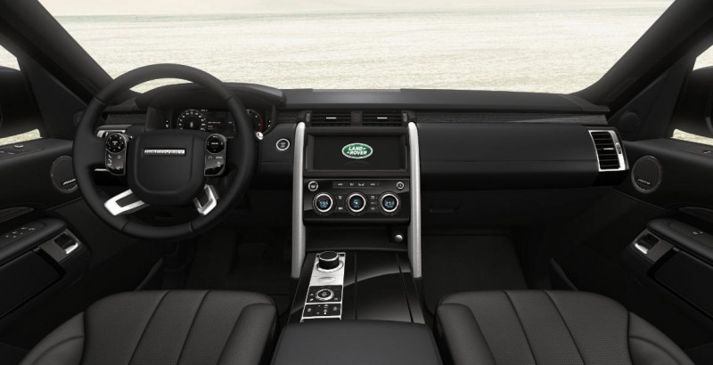 Land rover Discovery 3.0 Sd6 306ch HSE Mark III Gris occasion à SAINT ETIENNE - photo n°3