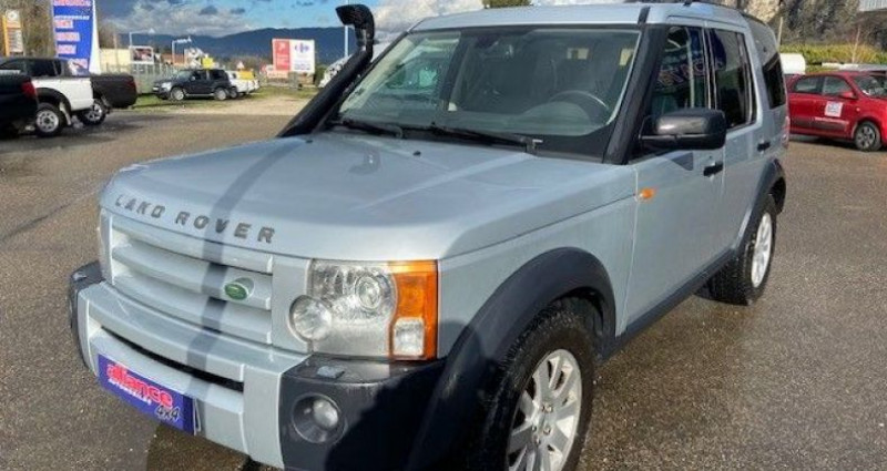 Land rover Discovery 3 td6 2.7l 7 places Gris occasion à Voreppe - photo n°2