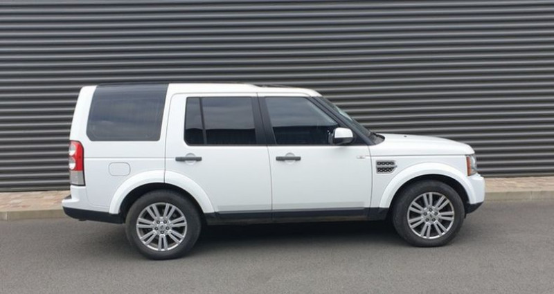 Land rover Discovery 4 iv tdv6 245 hse bva n Blanc occasion à AMILLY - photo n°4