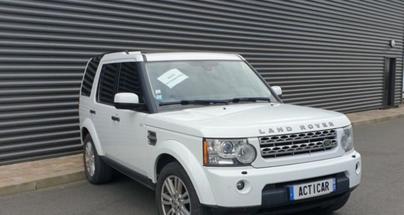 Land rover Discovery 4 iv tdv6 245 hse bva n Blanc occasion à AMILLY - photo n°2