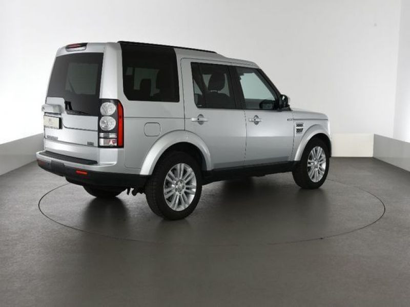 Land rover Discovery 4 SDV6 3.0 256 HSE 7 Places Gris occasion à Beaupuy - photo n°3