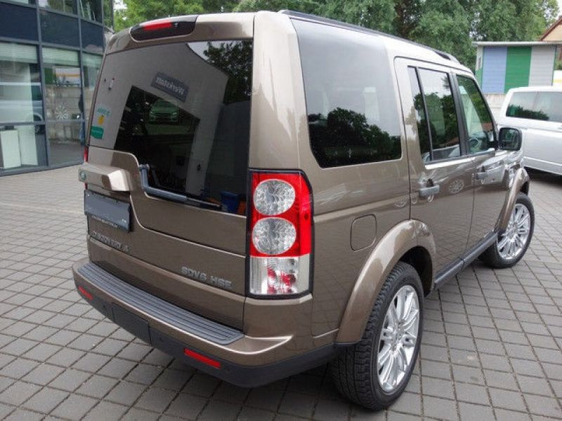 Land rover Discovery 4 SDV6 3.0 256 HSE 7 Places Bronze occasion à Beaupuy - photo n°3