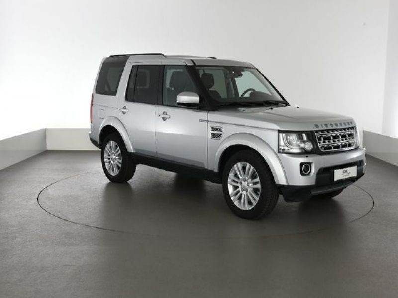 Land rover Discovery 4 SDV6 3.0 256 HSE 7 Places Gris occasion à Beaupuy - photo n°5