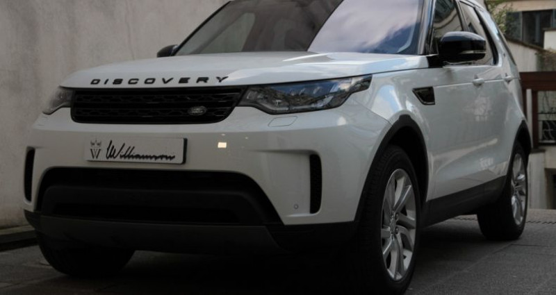 Land rover Discovery 5 hse luxury ethanol 300hp i Blanc occasion à Neuilly Sur Seine