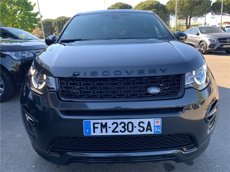 Land rover Discovery MARK IV TD4 180CH BVA HSE Gris occasion à LABEGE CEDEX - photo n°7