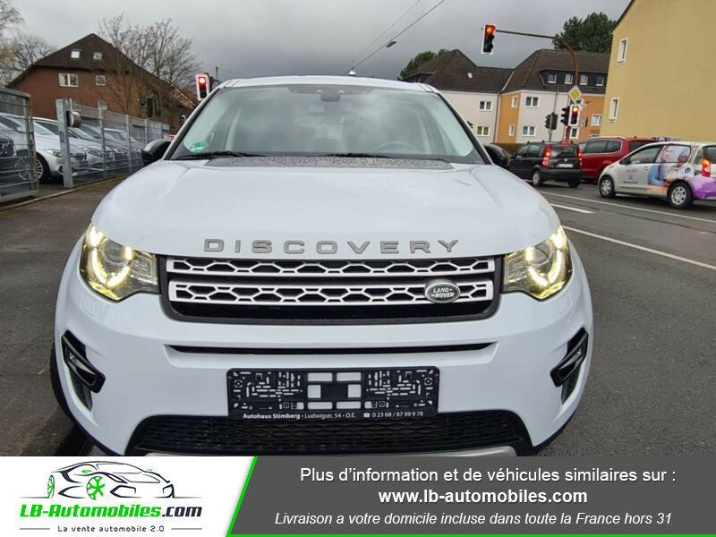 Land rover Discovery SD4 190 ch 7 places Blanc occasion à Beaupuy - photo n°9