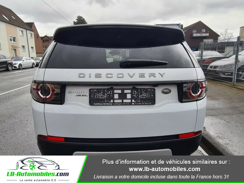 Land rover Discovery SD4 190 ch 7 places Blanc occasion à Beaupuy - photo n°10