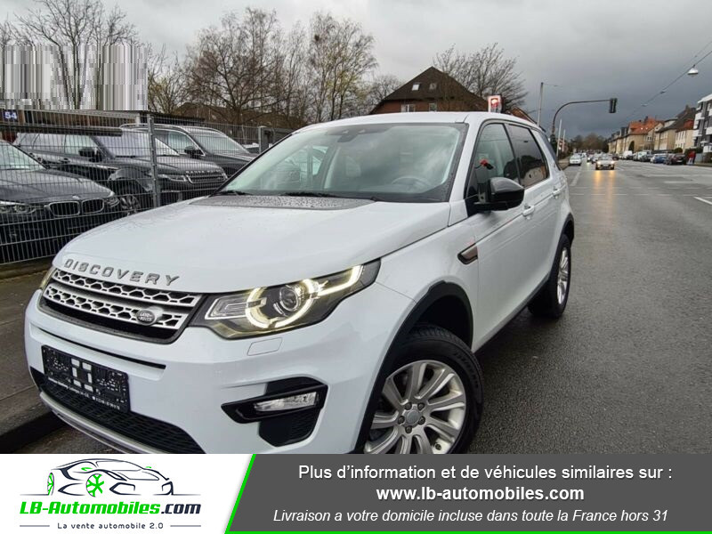 Land rover Discovery SD4 190 ch 7 places Blanc occasion à Beaupuy