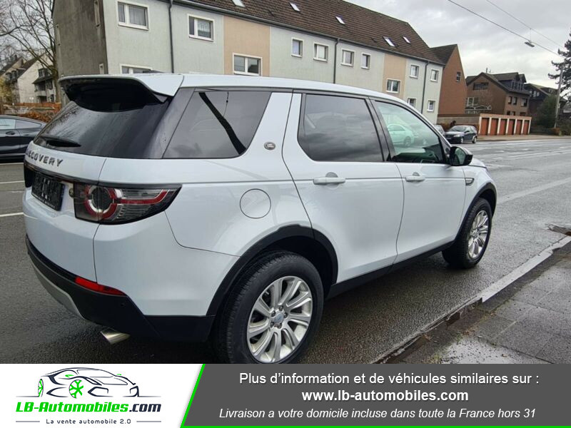 Land rover Discovery SD4 190 ch 7 places Blanc occasion à Beaupuy - photo n°3