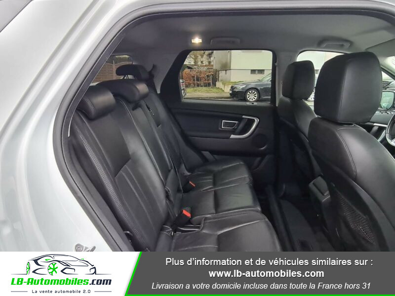 Land rover Discovery SD4 190 ch 7 places Blanc occasion à Beaupuy - photo n°5