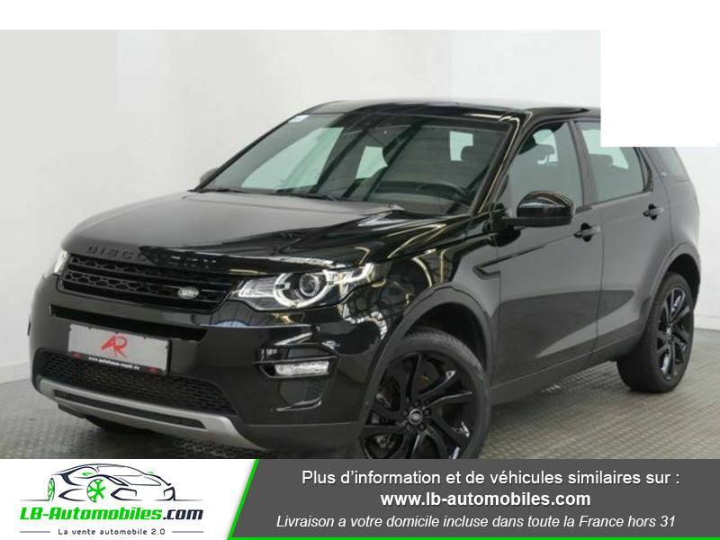 Land rover Discovery SD4 190 ch Noir occasion à Beaupuy