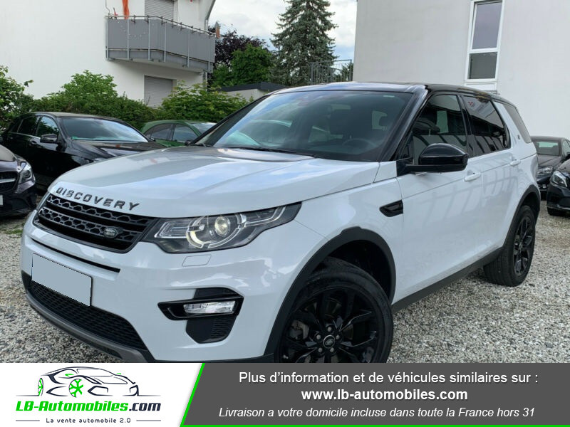 Land rover Discovery SD4 240ch BVA Blanc occasion à Beaupuy