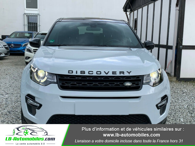 Land rover Discovery SD4 240ch BVA Blanc occasion à Beaupuy - photo n°12