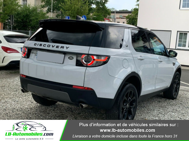 Land rover Discovery SD4 240ch BVA Blanc occasion à Beaupuy - photo n°3