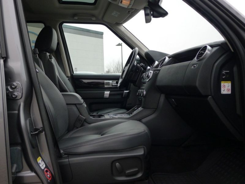 Land rover Discovery SDV6 3.0 256 HSE 7 Places Gris occasion à Beaupuy - photo n°4