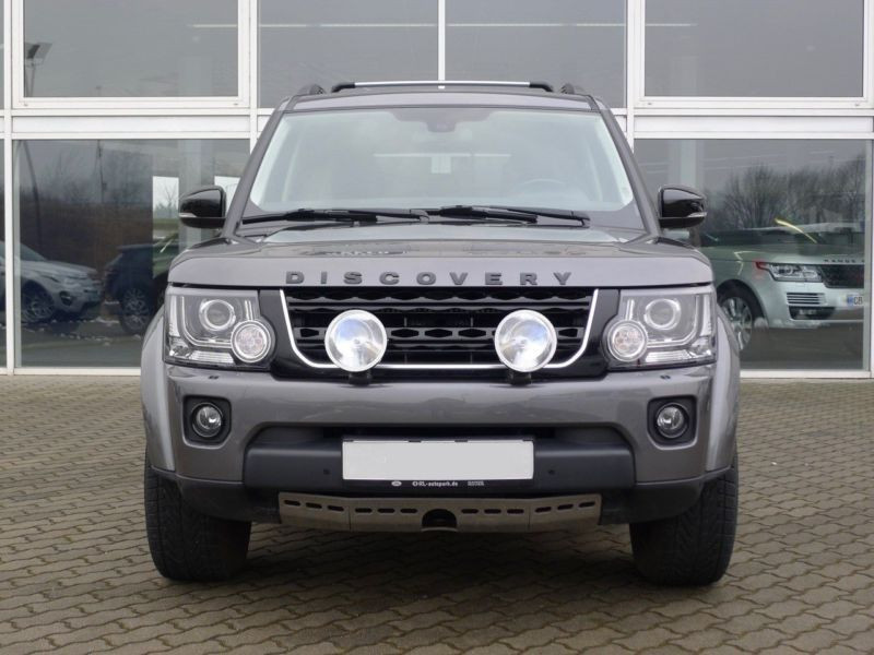 Land rover Discovery SDV6 3.0 256 HSE 7 Places Gris occasion à Beaupuy - photo n°8