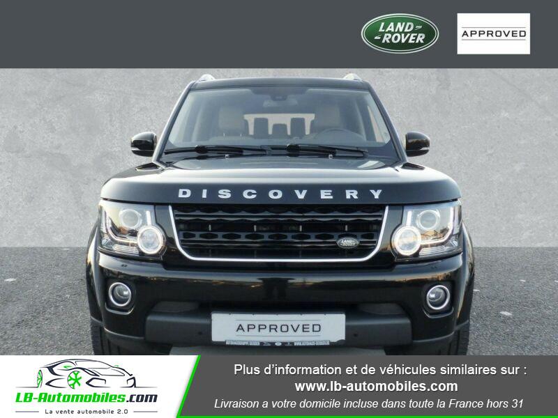 Land rover Discovery SDV6 3.0L 256 ch / 7 places Noir occasion à Beaupuy - photo n°8