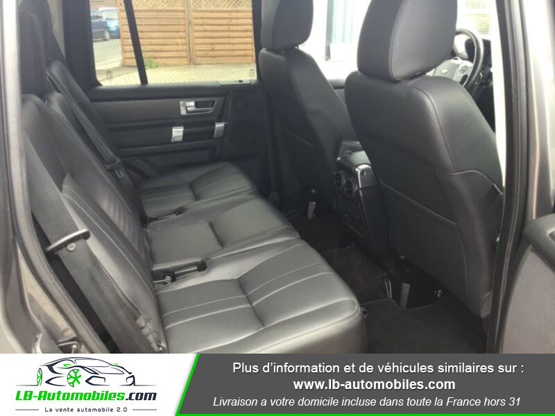 Land rover Discovery SDV6 3.0L 256 ch / 7 places Gris occasion à Beaupuy - photo n°12