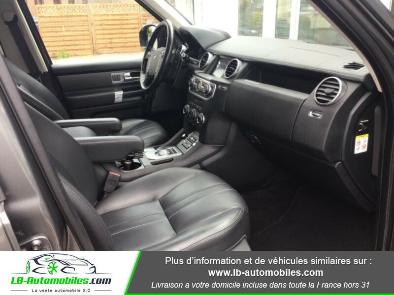 Land rover Discovery SDV6 3.0L 256 ch / 7 places Gris occasion à Beaupuy - photo n°7