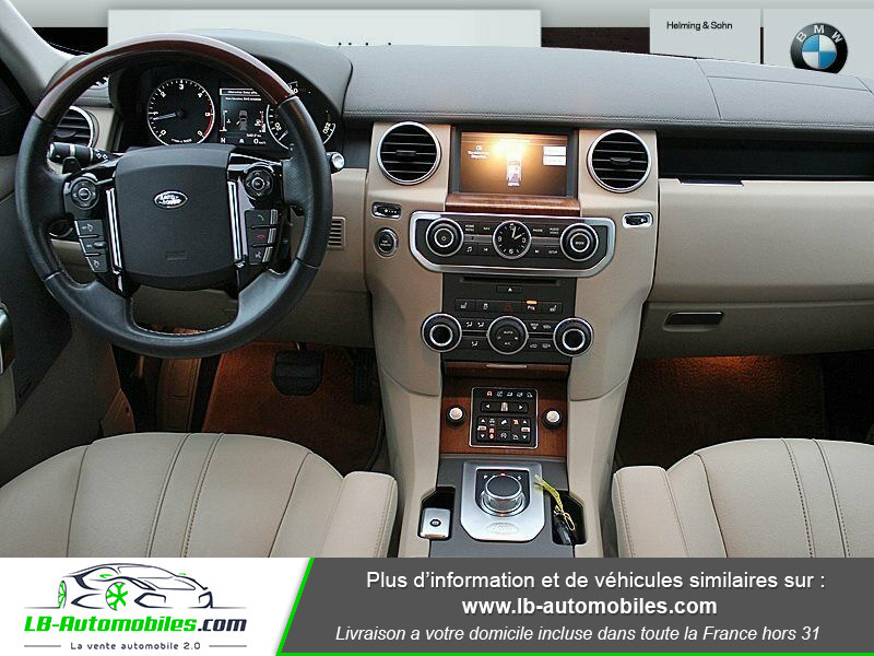 Land rover Discovery SDV6 3.0L 256 ch / 7 places Gris occasion à Beaupuy - photo n°2