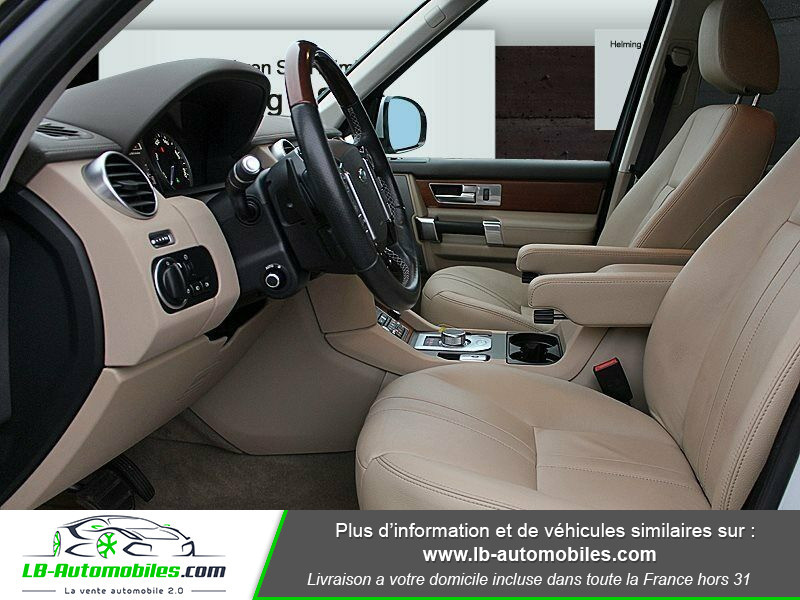 Land rover Discovery SDV6 3.0L 256 ch / 7 places Gris occasion à Beaupuy - photo n°4