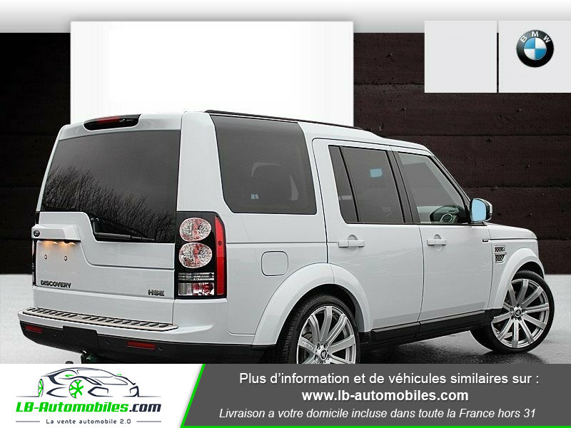 Land rover Discovery SDV6 3.0L 256 ch / 7 places Gris occasion à Beaupuy - photo n°3