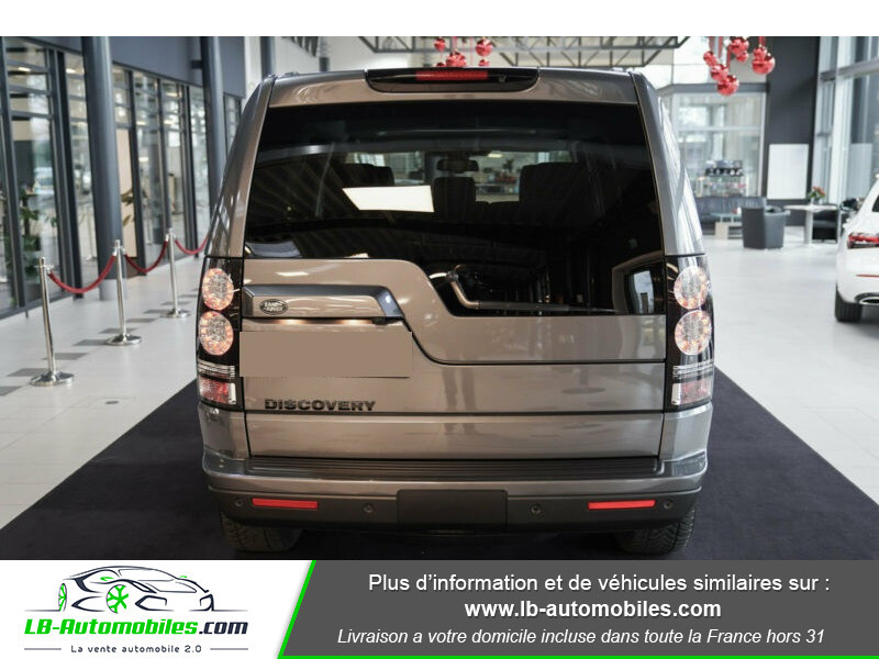 Land rover Discovery SDV6 3.0L 256 ch / 7 places Gris occasion à Beaupuy - photo n°13