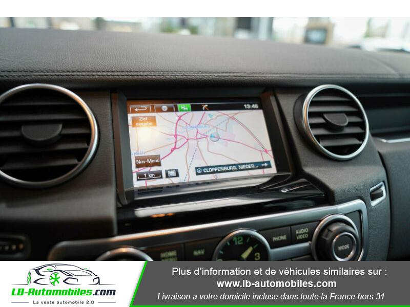 Land rover Discovery SDV6 3.0L 256 ch / 7 places Gris occasion à Beaupuy - photo n°8