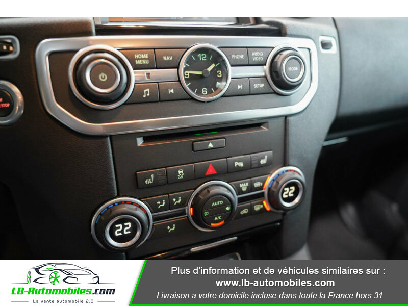 Land rover Discovery SDV6 3.0L 256 ch / 7 places Gris occasion à Beaupuy - photo n°9