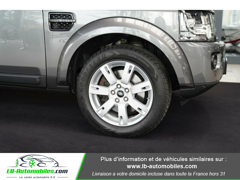 Land rover Discovery SDV6 3.0L 256 ch / 7 places Gris occasion à Beaupuy - photo n°15