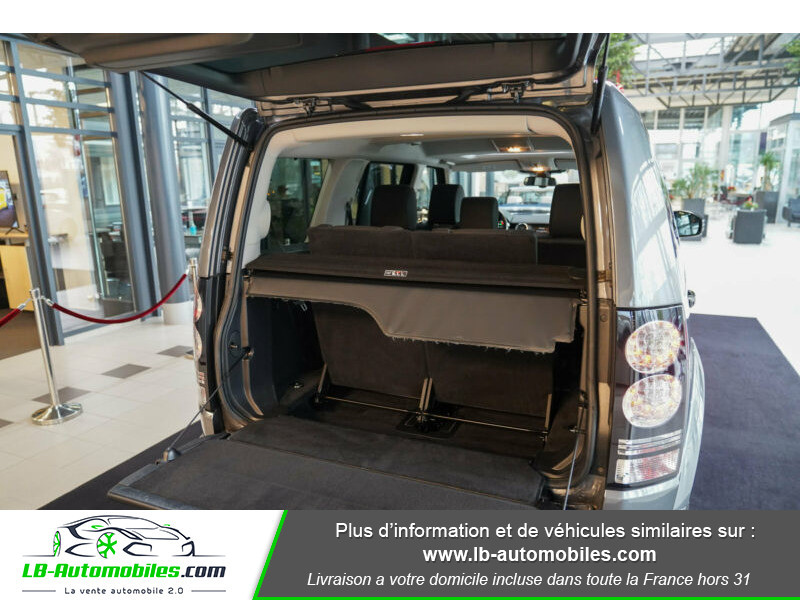 Land rover Discovery SDV6 3.0L 256 ch / 7 places Gris occasion à Beaupuy - photo n°14
