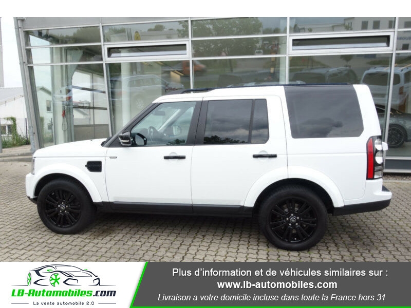 Land rover Discovery SDV6 3.0L 256 ch Blanc occasion à Beaupuy - photo n°12