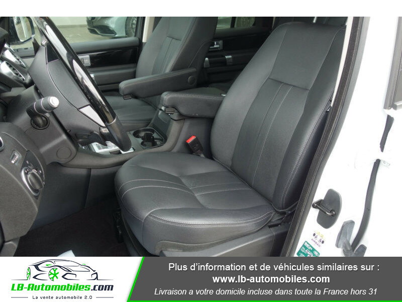 Land rover Discovery SDV6 3.0L 256 ch Blanc occasion à Beaupuy - photo n°3