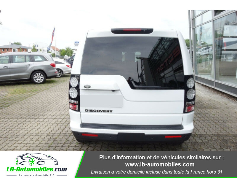 Land rover Discovery SDV6 3.0L 256 ch Blanc occasion à Beaupuy - photo n°10