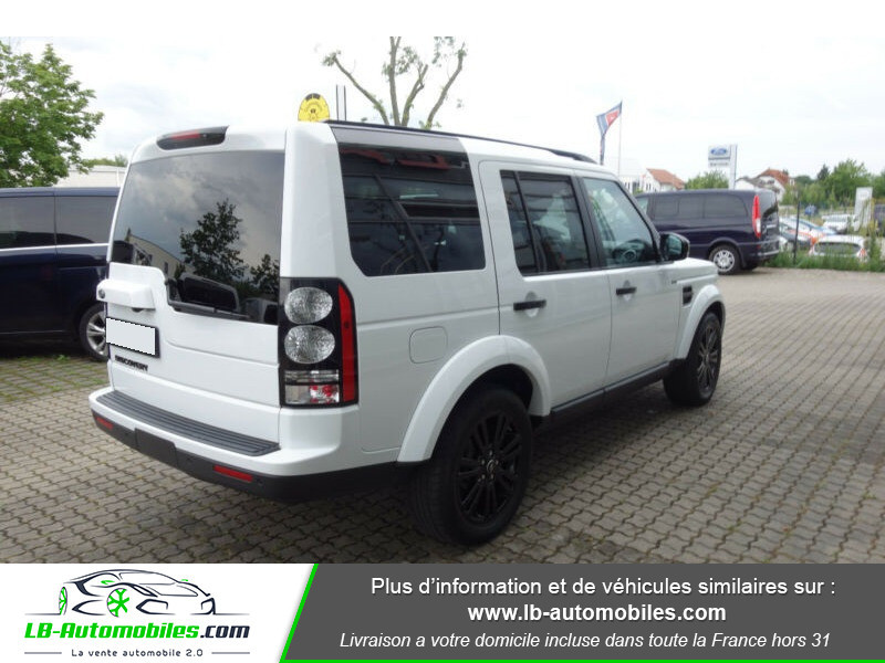 Land rover Discovery SDV6 3.0L 256 ch Blanc occasion à Beaupuy - photo n°2